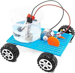 TOYARTs 塩水で走る自動車 自由研究工作キット 燃料電池の仕組み 日本語説明書付き マグネシウム燃料電池カー