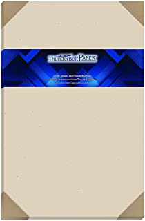 """$80 » 100 Earthy Driftwood Fiber 80# Cover Paper Sheets - 11"""" X 17"""" (11X17 Inches) Tabloid