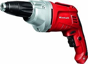 Einhell 4259905 Atornillador para paredes en seco, rotación derecha/izquierda, 500 W, 230 V, color rojo y negro
