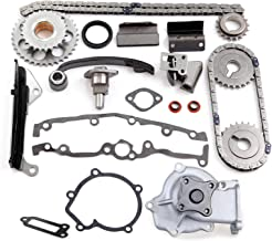 SCITOO TK3024 Timing Chain Water Pump fits for 1991-1999 1997 Nissan Sentra 1.6L DOHC GA16DE