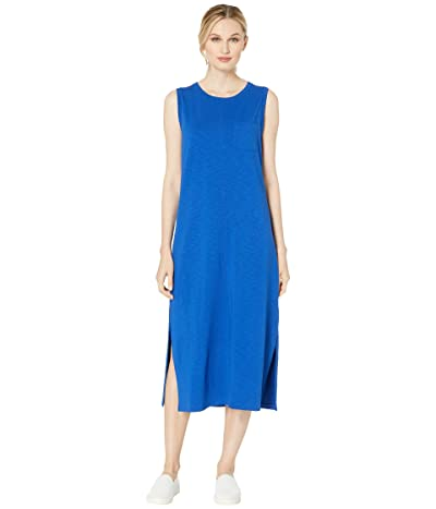 Lilla P Flame Modal Long Tank Dress (Cobalt) Women