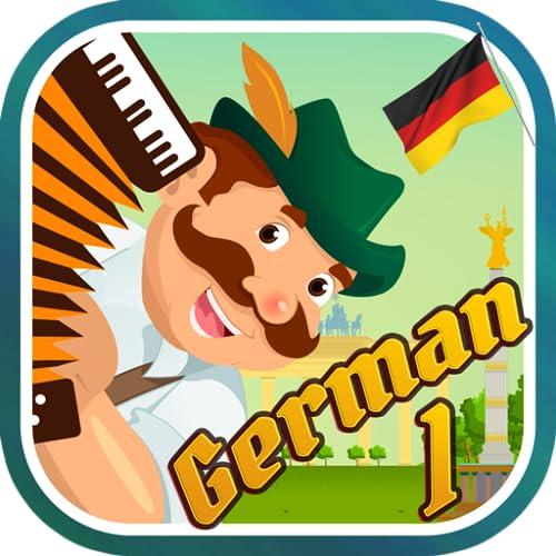 Lerne deutsche Wörter 1: Vokabelspiel mit Vokabelkarten Lektionen für Anfänger
