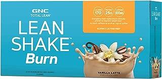 GNC Total Lean Lean Shake Burn - Vanilla Latte California Only