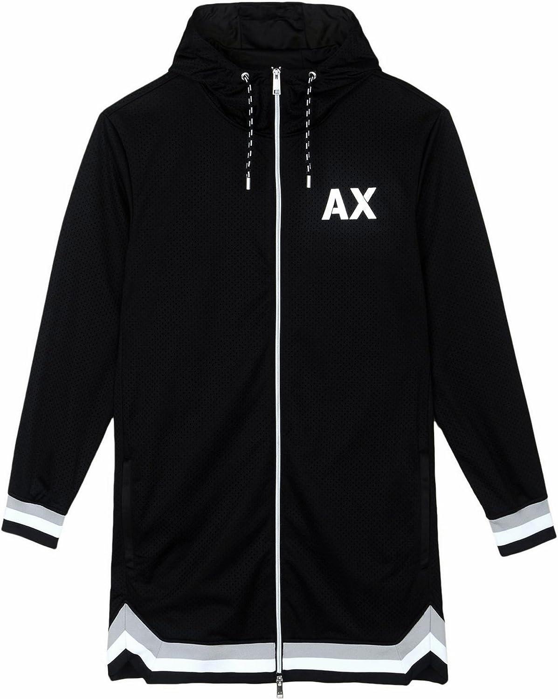 AX Armani Exchange Men's Athletic Logo Jacket