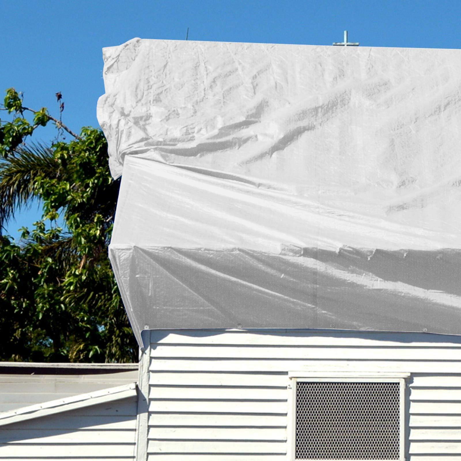 casa pura Toldo Reforzado Impermeable 6x10 - Rafia Exterior | Toldo con ojales | Extremadamente resistente | 240g/m² | Muchos colores y tamaños (Blanca): Amazon.es: Bricolaje y herramientas