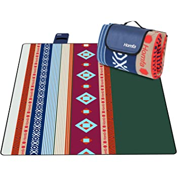 HOMFA Manta de Picnic Impermeable Plegable Anti-Calor para Camping ...