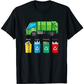 I Love Garbage Truck Shirt Toddler Boy Trash Truck T-Shirt