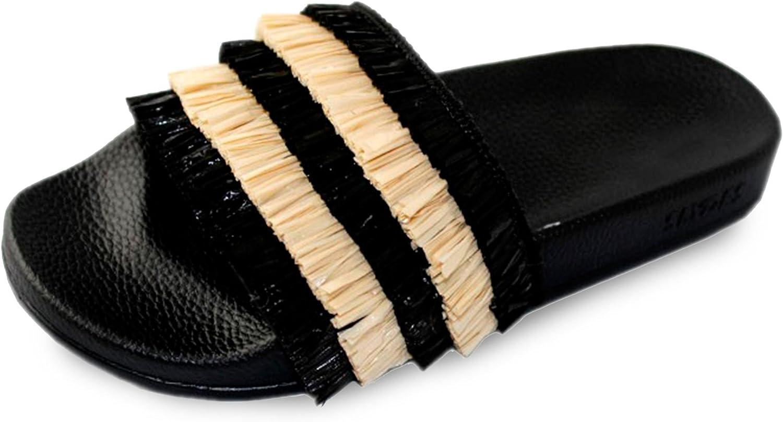 Slydes (2018 Coco Black Women's Slider Sandals