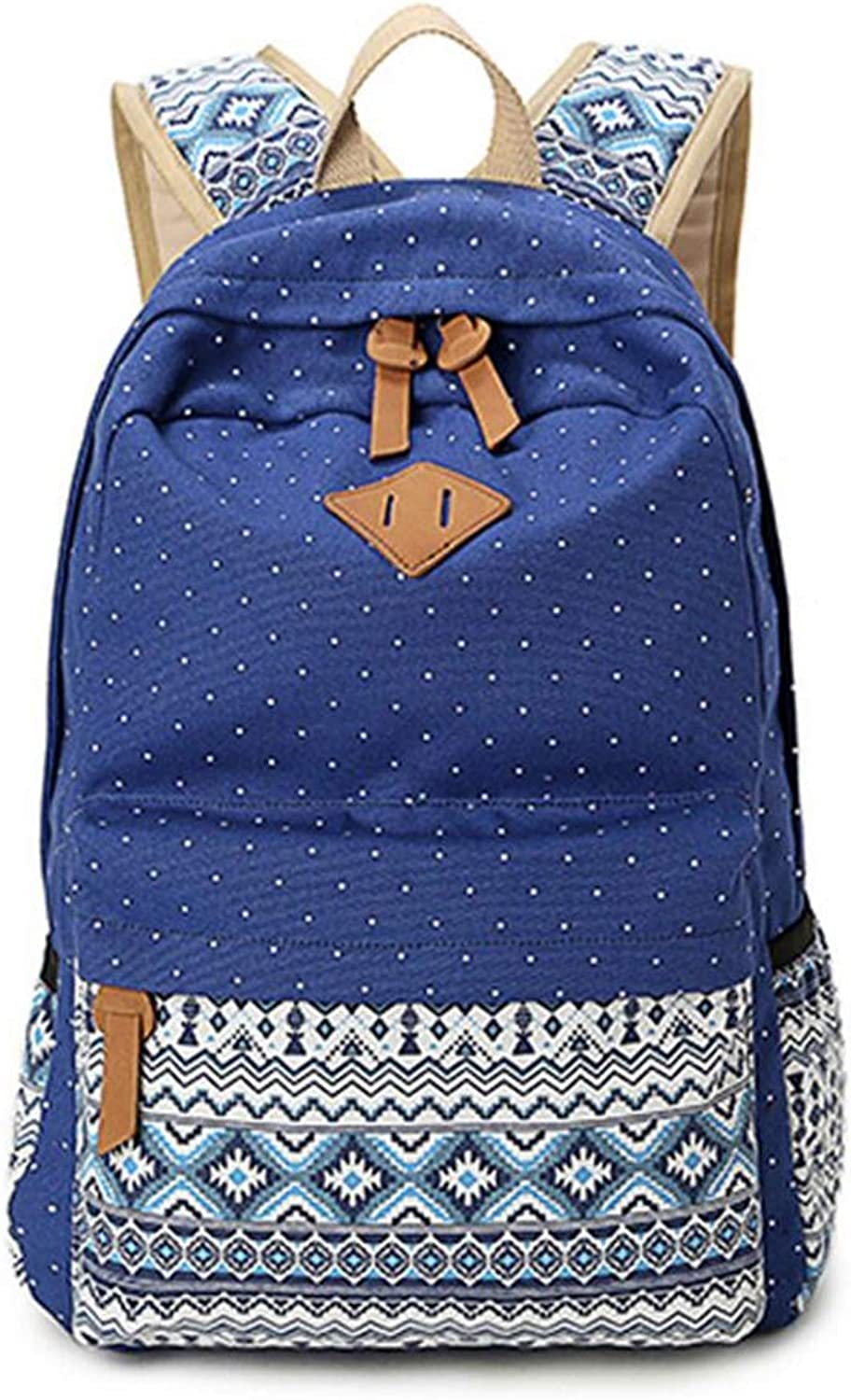 Backpack Korean Version Women's Travel Backpack Canvas Bag CrossBorder Student School Bag Harajuku Style Celebrity Style blueee Canvas 20L 28  12  42cm