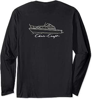 Chris Craft 25 Catalina Long Sleeve Printed on Back