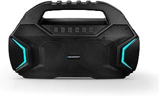 Blaupunkt BT400 Volcano 40 Portable Party Bluetooth Speaker with Wireless Karoke Mic (Black)