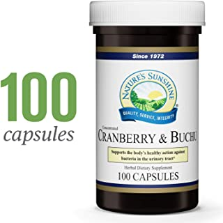 Nature's Sunshine Cranberry & Buchu Concentrate, 100 Capsules | Herbal Supplement Helps Support a Healthy Urinary Tract by Delivering Powerful Herbs Such as Buchu Leaf