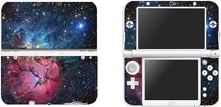eSeeking Vinyl Cover Decals Skin Sticker for New Nintendo 3DS XL / LL - Dark red Nebula