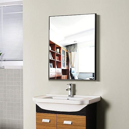 Black Bathroom Mirrors Amazon Com