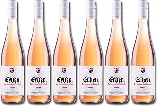 Erben Portugieser Weißherbst Lieblich – Roséwein aus Deutschland – Qualitätswein – 6 x 0.75 l