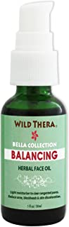 Wild Thera Balancing Face Oil. Herbal Oil for Acne, Unclog Pores, Blackheads, White heads, rosacea, eczema,...