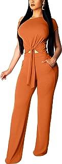 Best fashion orange jumpsuit Reviews
