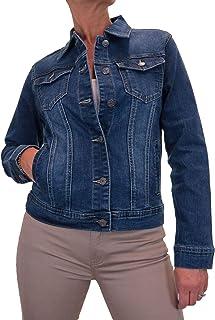 icecoolfashion Giacca Di Jeans Stile Occidentale Tradizionale Per Le Donne 42-52