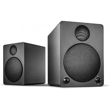 Wavemaster Cube Black Regal Lautsprecher System 50 Watt Mit Bluetooth Streaming Aktiv Boxen Nutzung Für Tv Tablet Smartphone Schwarz 66320 Audio Hifi