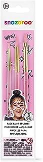 Snazaroo 3 Pack Fun Brush Set - Girls