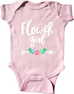 inktastic - Flower Girl with Arrow and Flowers Infant Creeper 28b08