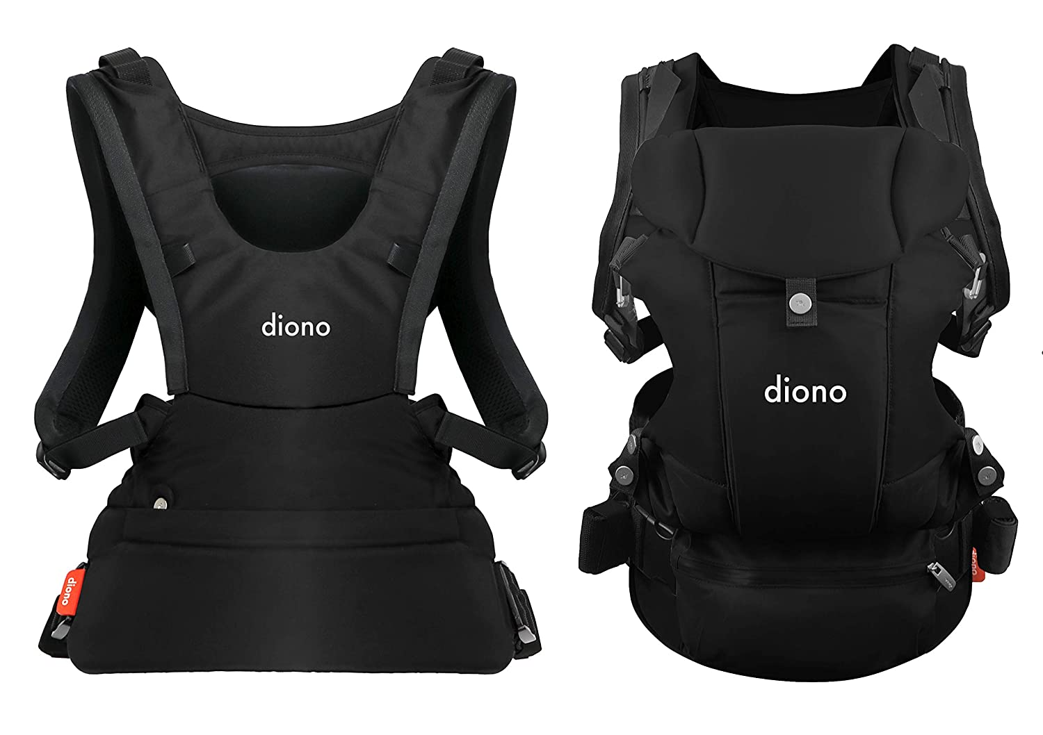 Diono Carus Essentials 3-in-1 Carrying System from Birth up to 3 Years, Black