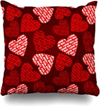 NOWCustom Throw Pillow Cover Envelope Purple Love Valentines Industrial Patterns Booklet Box Continuity Design Zippered Pillowcase Square Size 20 x 20 Inches Home Decor Pillow Case
