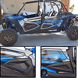 Lower Door Insert Panels with OEM Style Frame Works for 4 doors 2014-2018 Polaris RZR XP4 1000 XP 900