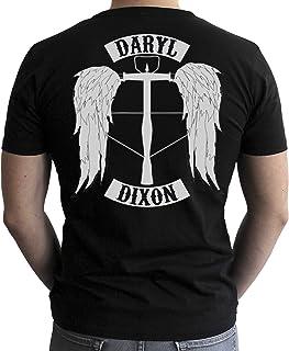The Walking Dead - Camiseta - Daryl - Hombre - Negro