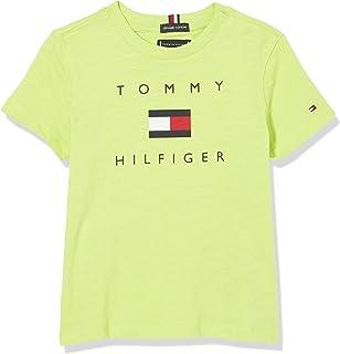 Tommy Hilfiger Hilfiger Logo tee S/S Camisa para Niños