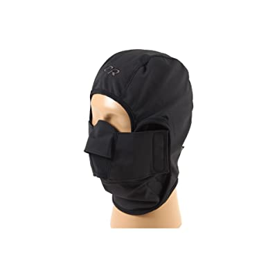 Outdoor Research WINDSTOPPER Gorilla Balaclava (Black) Cold Weather Hats
