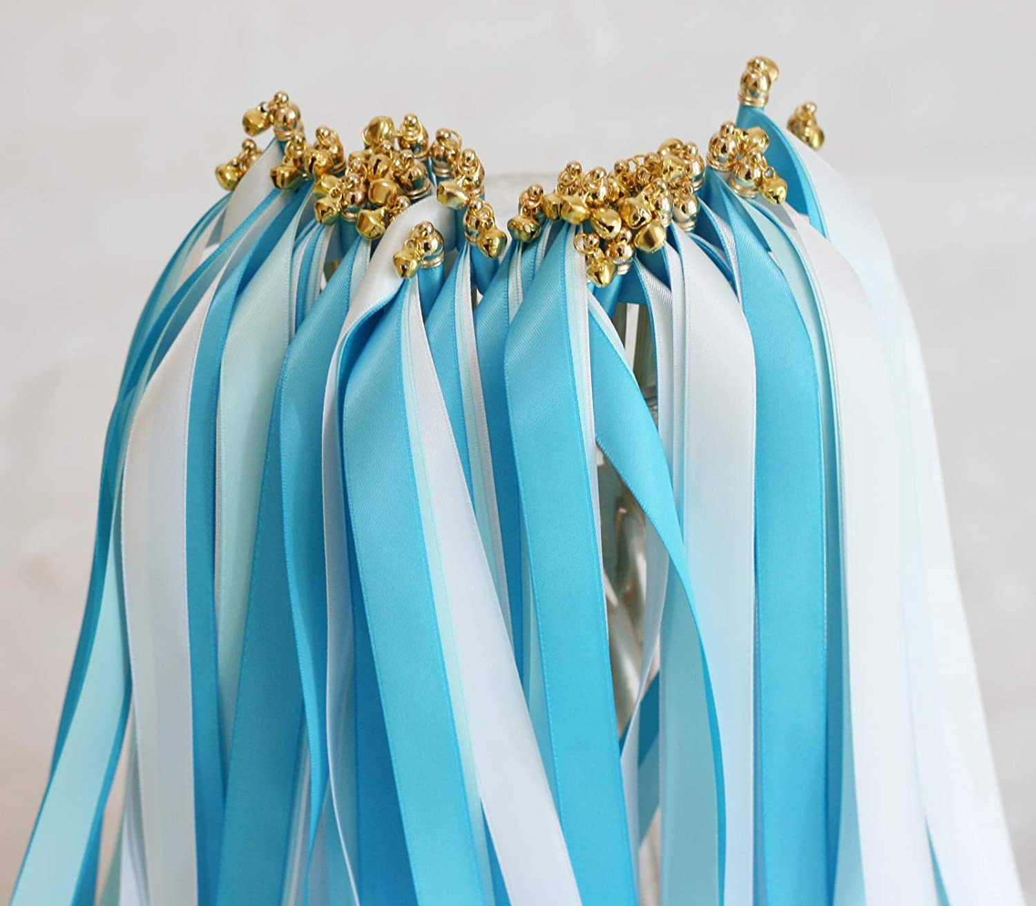 Cheonus 50PCS Ribbon Wands with and NEW before selling ☆ Bell Gold Genuine Part Triple