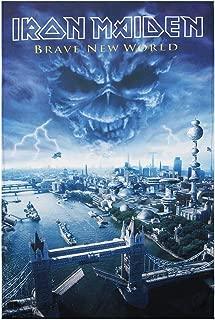 Unbekannt Iron Maiden R/ückenaufn/äher Brave new world