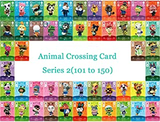 Animal Crossing Card NTAG215 Printed NFC Card Compatible Series 2 (101 to 150) Pick from The List