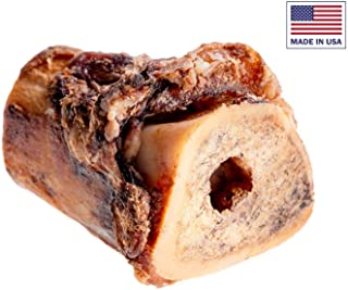 Unified Pet Beef Marrow Bones for Dogs - 100% All Natural, Hickory Smoked, Premium Dog Bones - Sourced and Made in USA