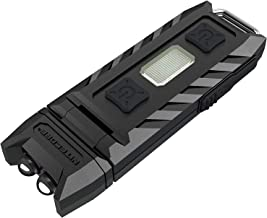 NITECORE Thumb 85 Lm Tiltable Keychain Light, Black