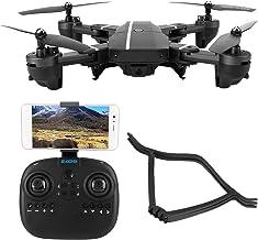 Quadcopter, vikbar helikopterkamera Högkvalitativt material Trehastighetsläge för spelare för resenärer