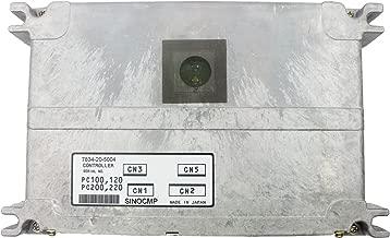 Excavator Controller 7834-20-5004 - SINOCMP Excavator Control Units for Komatsu ECUs PC400-6 PC400LC-6 Excavator Parts, 1 Year Warranty