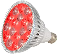 ABI LED Light Bulb for Red Light Therapy, 660nm Deep Red and 850nm Near Infrared Combo, 54W Class