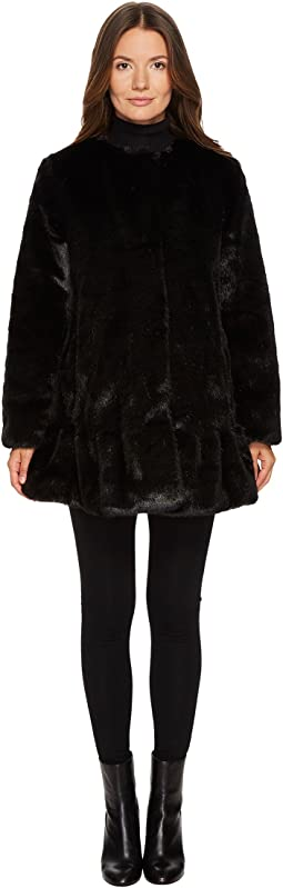 Kate Spade New York - Faux Mink Fur Jacket