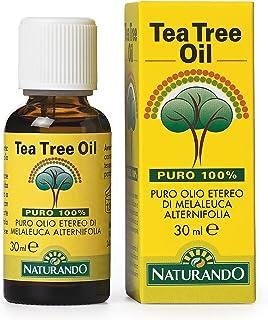 NATURANDO TEA TREE OIL 30 ML olio di Melaleuca Alternifolia puro al 100%