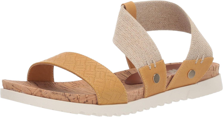 Yellow Box Womens Meera Flat Sandal