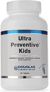 Douglas Laboratories - Ultra Preventive Kids - A Children's Chewable MultiVitamin & Mineral - Natural Grape Flavor - 60 Tablets