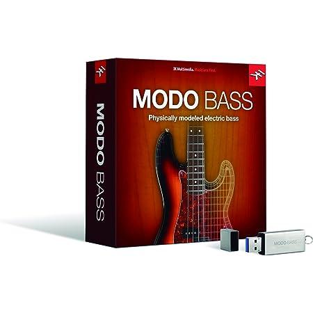 IK Multimedia MODO BASS 通常版 - フィジカル・モデリング・エレクトリック・ベース音源【国内正規品】