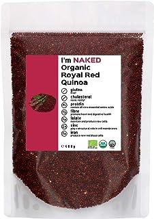Naked Organic Royal Red Quinoa, 400g