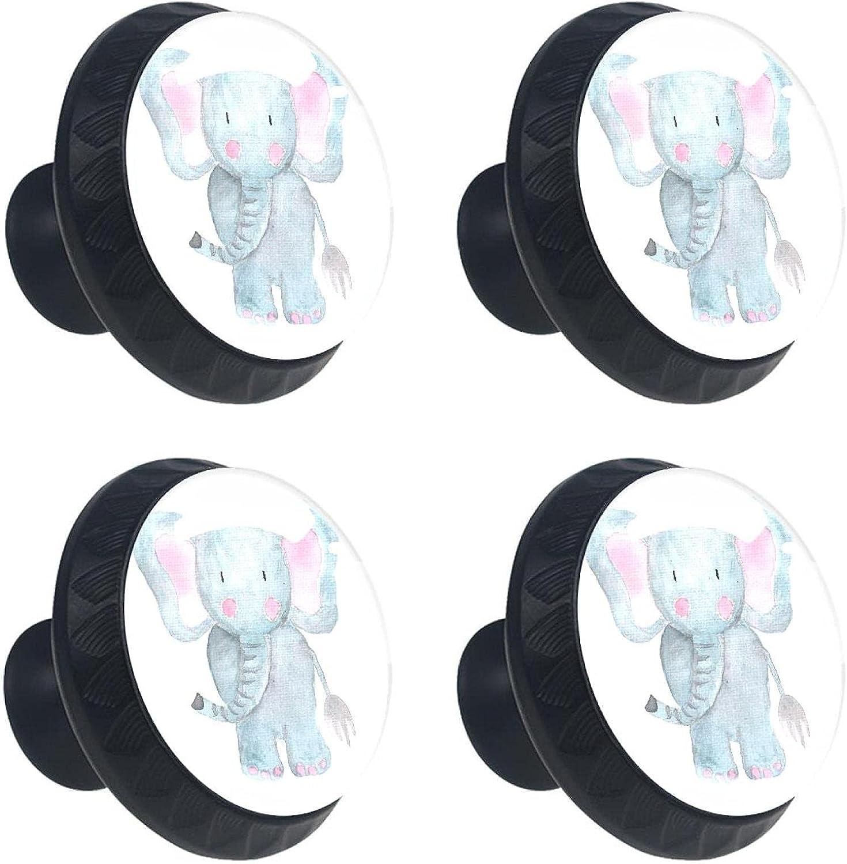 Drawer Knobs for Kids Elephant Animal Popular popular Dresser Crystal Glas Max 65% OFF