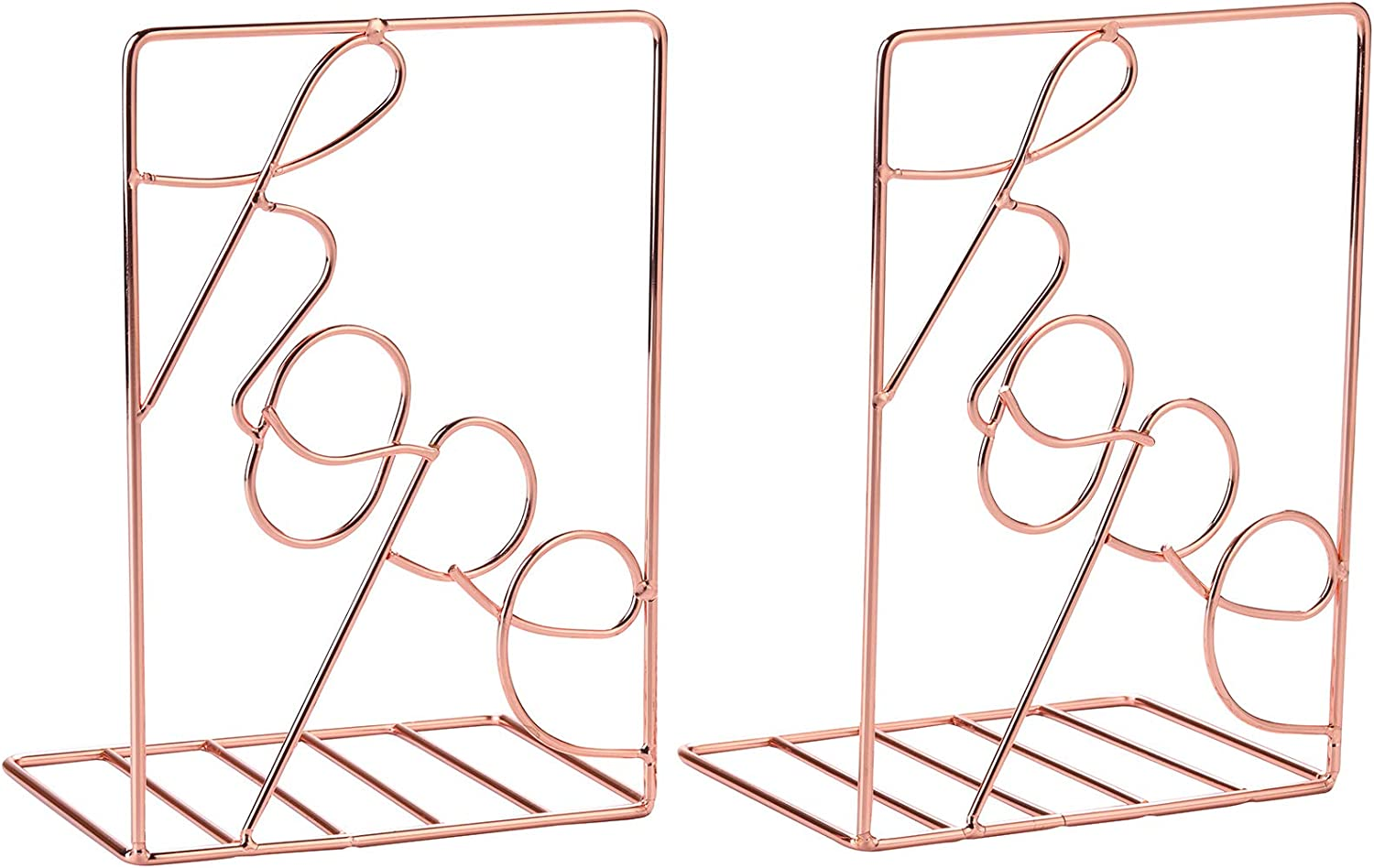 Bookends Gold Decorative Metal Book Max 81% OFF Supports Excellent Shelves for Ends