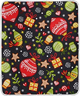 Lambbd Lewissq Pentatonix Mom Christmas Ornament Blanket All Season Warm Lightweight Thermal Fleece Blankets for 50x60 in