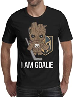 Mens' Marc-Andre Fleury Vegas Golden Knights Pure Short Sleeves Funny Tee Shirt