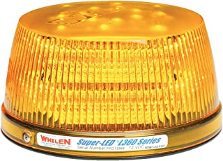 Whelen Engineering L31 Series Super-LED Beacon - High Dome, Flat Mount - Amber